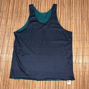Vintage 90s Nike Reversible Gym Sports Jersey Rare